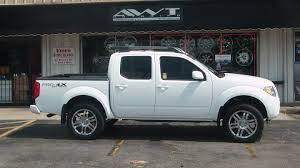 lifted silver nissan frontier blog american wheel and tire part 28