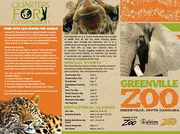 zoo brochure template zoo brochure template 1 best agenda templates