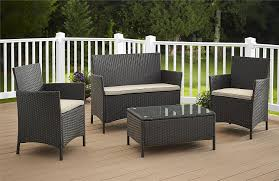 The Range Garden Furniture Amazon Com Cosco Products 4 Piece Jamaica Resin Wicker
