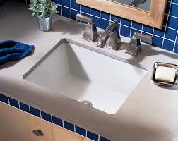 american standard boulevard rectangular undermount bathroom sink