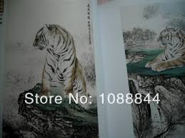 free shipping china animal chinese tiger sketch for a stencils