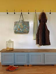 bench bench mudroom upcycle kitchen cabinets into a storage
