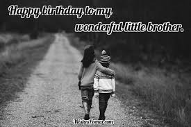 what is the best birthday letter to a younger brother gifts