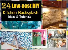 Cheap Diy Kitchen Backsplash Design Your Own Backsplash Do It Yourself Diy Kitchen Backsplash