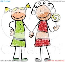 drawing clipart best friend pencil and in color drawing clipart