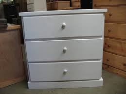White Bedroom Dresser Solid Wood White Painted Rectangle Wooden Simple Style Most Recommended Cheap