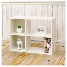 2 Shelf White Bookcase Way Basics 2 Shelf Chelsea Bookcase Storage Shelf Natural White