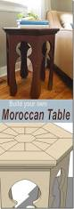Side Table Plans Remodelaholic Hexagonal Moroccan Side Table Plans