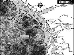 cumberland lake map lake barkley cumberland river map eddy creek ky mappery