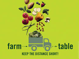 from farm to table farm to table keep the distance short words of wisdom