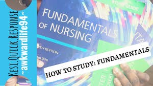 how to study fundamentals of nursing youtube