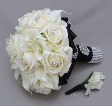 Silk Wedding Bouquet Silk Flowers For Wedding Bouquets Cheap Finding Wedding Ideas