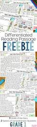 free differentiated reading passage for first grade this free