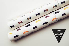 bow wrapping paper moustaches and bow printable wrapping papers design is yay