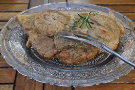 cuisiner une rouelle de porc en cocotte minute recette rouelle de porc en cocotte