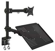 Desk Mount Laptop Stand Mount It Mi 3352ltmn Laptop Desk Stand And Monitor