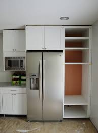 cabinet space standard kitchen cabinet sizes chart over refrigerator cabinet
