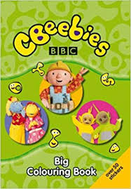 cbeebies big colouring book amazon uk bbc 9781405903288 books