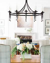 Muriel Chandelier Southern Home With Neutral Interiors Wanted One Magazine