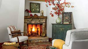 fall fireplaces and mantels southern living