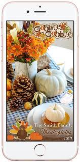 custom thanksgiving snapchat filter snapchat geofilter