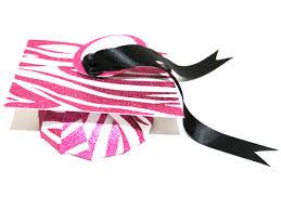 pink graduation cap glitter pink zebra gift boxes graduation cap and mini box