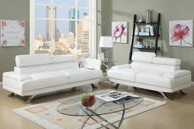 White Leather Couch Living Room Boyn White Leather Sofa And Loveseat Set Steal A Sofa Furniture