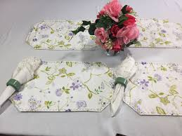 lavender placemats floral placemats cloth placemats small