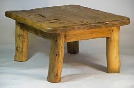 Vancouver Oak Coffee Table - the vancouver oak petite small square coffee table with wood decor