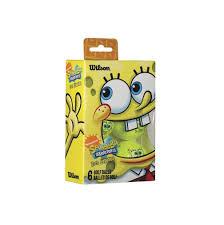 amazon com wilson sponge bob golf balls 6 pack standard golf