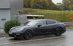 porsche v8 twin turbo v8 2019 bentley flying spur test mule spied in porsche