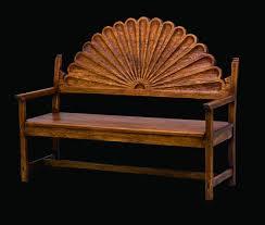 Southwest Living Room Furniture by Sunburst Bench Southwest Furniture Santa Fe Style Southwest