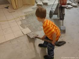Easiest Way To Clean Linoleum Floors Removing Floor Tiles And Thinset