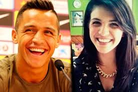 alexis sanchez wife 12 soccer players that have their own female lookalike mundo en