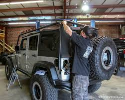 2007 jeep unlimited rubicon rack jeep wrangler jk smittybilt roof rack review