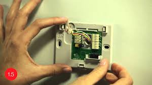 install the honeywell wi fi smart thermostat with the help of this