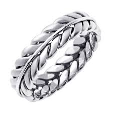 braided band mens braided ring urlifein pixels