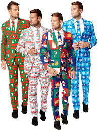 christmas suits mens christmas opposuit adults party oppo suit festive fancy