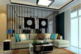living room partition decoration cool 3d modern traditional style black fence partition