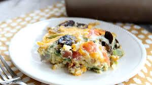 brunch egg bake recipes bettycrocker com