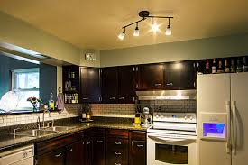 kitchen track lighting fixtures traditional kitchen