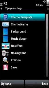 theme maker nokia 2690 phoneky theme symbian apps