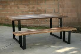 vintage fir cross beam dining tablecross leg table plans wooden