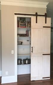 Closet Doors Barn Style Bifold Barn Door Diy Style Kitchen Cabinets Closet Doors Lowes