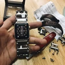 thread bracelet leatherman images Chronolinks leatherman tread multitool watch bracelet jpg