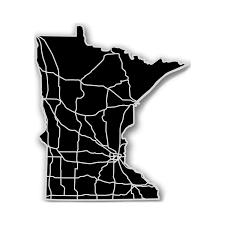 Minnesota State Map by Minnesota Acrylic Cutout State Map Modern Crowd Touch Of Modern