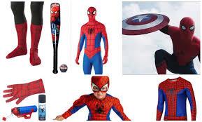 Spiderman Costume Halloween Diy Spiderman Costume Replica U2013 Spiderman Spandex Suit Sale