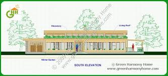 green architecture house plans green passive solar house plans 1