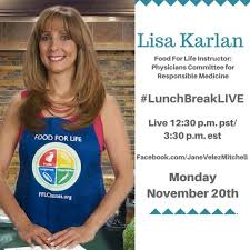 after the jane velez was cancelled what does she do now with her time lisa karlan is our guest chef today on jane velez mitchell