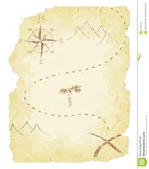 treasure map royalty free stock photography image 27974067
